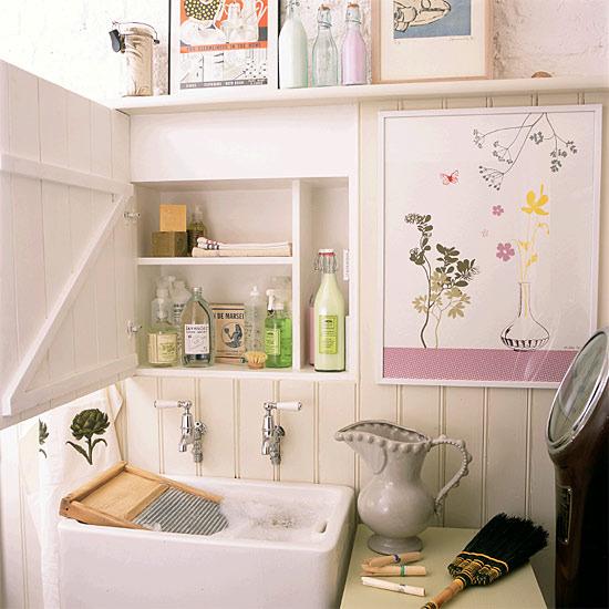 Decorando el cuarto de lavado } : Schu00f6ne Frau