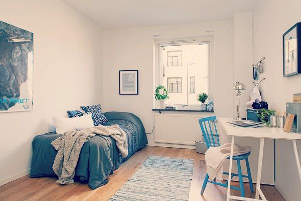 Hogar sueco 3 sch ne frau - Decorar habitacion invitados ...