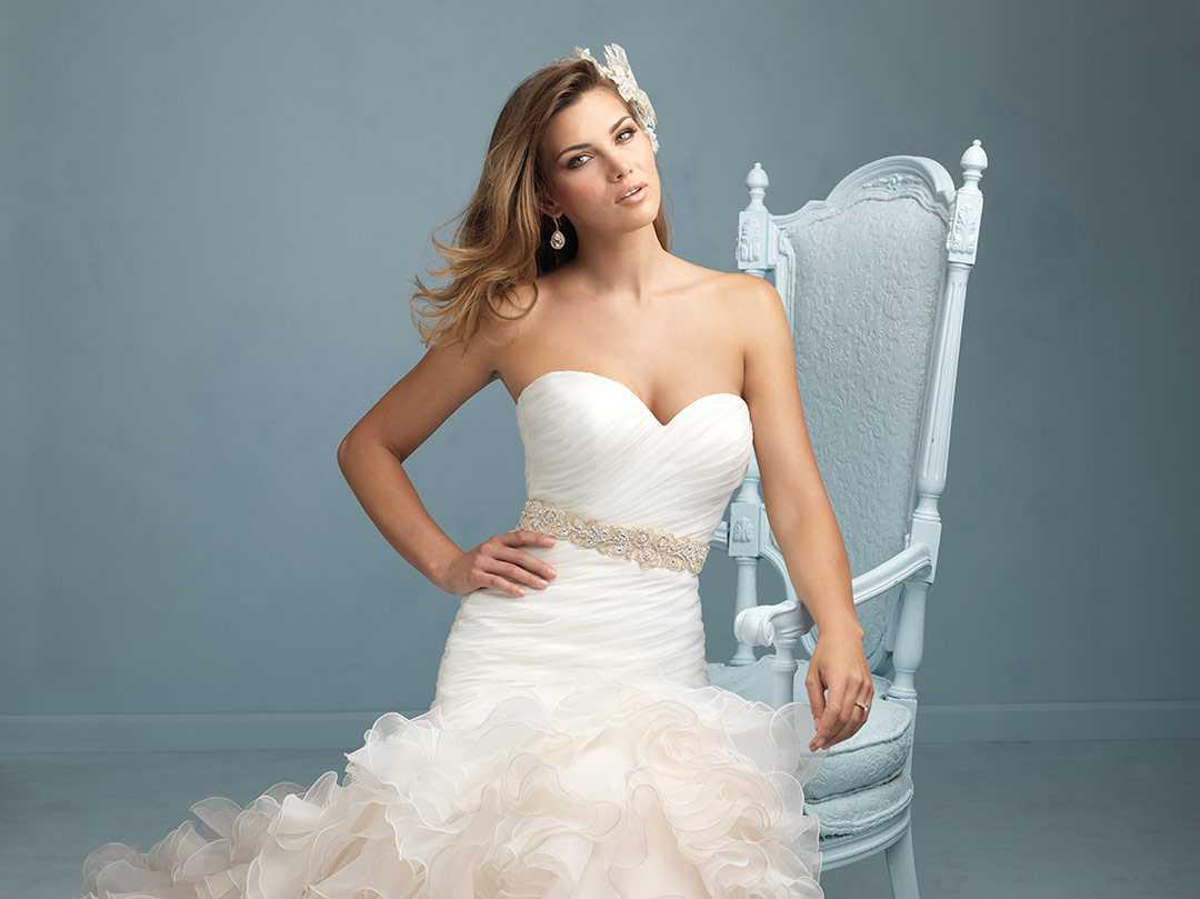 Vestido de novia con un tip } | Schöne Frau