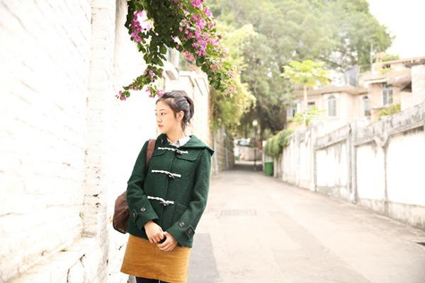 saco y falda de lana para invierno