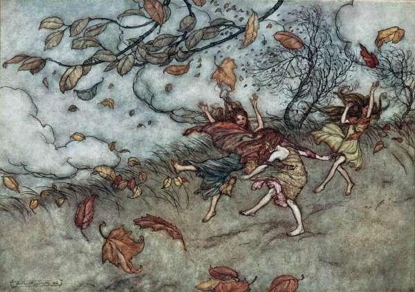 Arthur Rackham ilustraciones