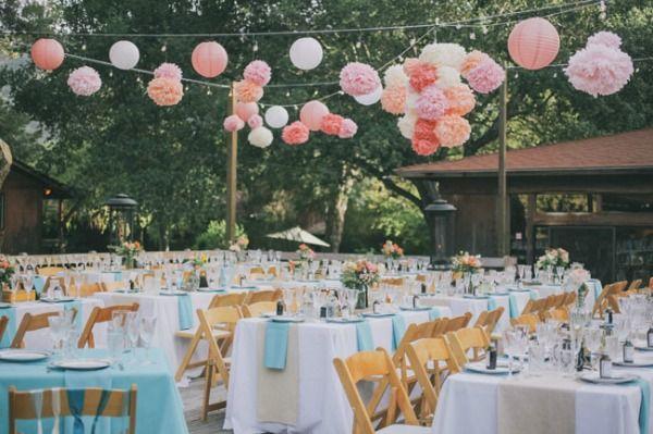 Decorando el local de tu boda