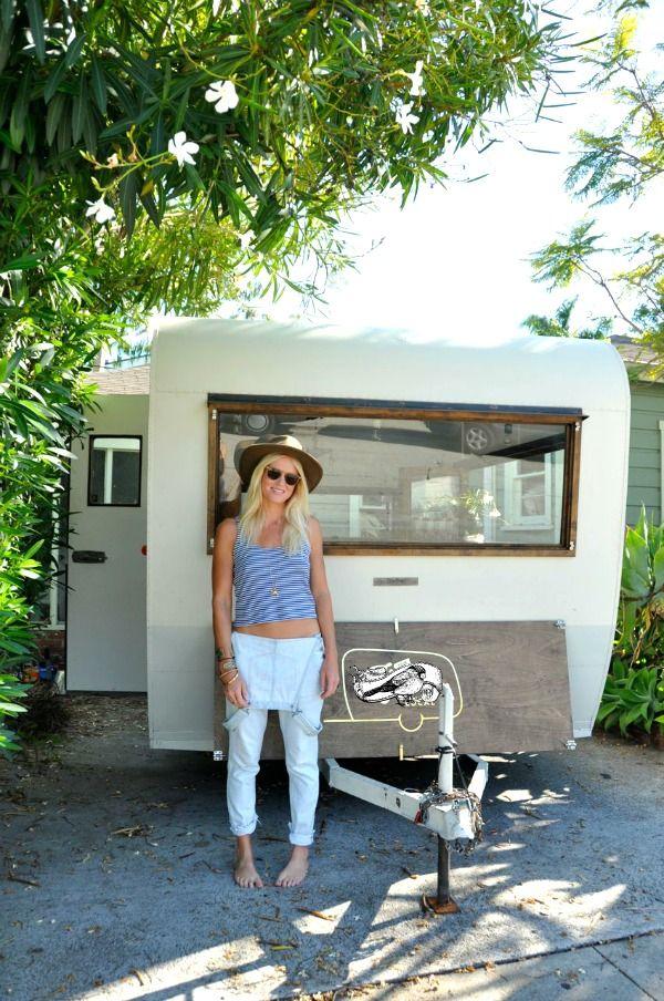 Un camper para vender comida